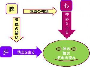 メンタル生理図
